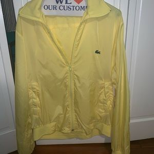NEVER WORN VINTAGE LACOSTE WIND BREAKER!!!